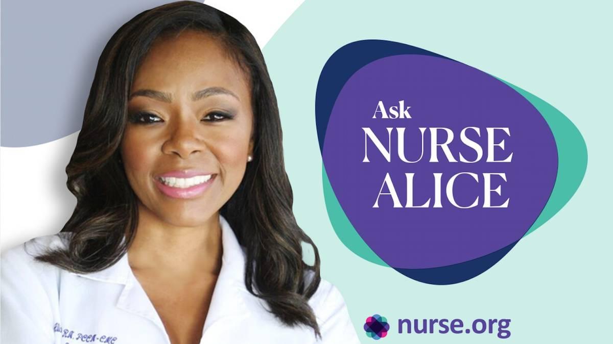 Ask Nurse Alice Benjamin Podcast