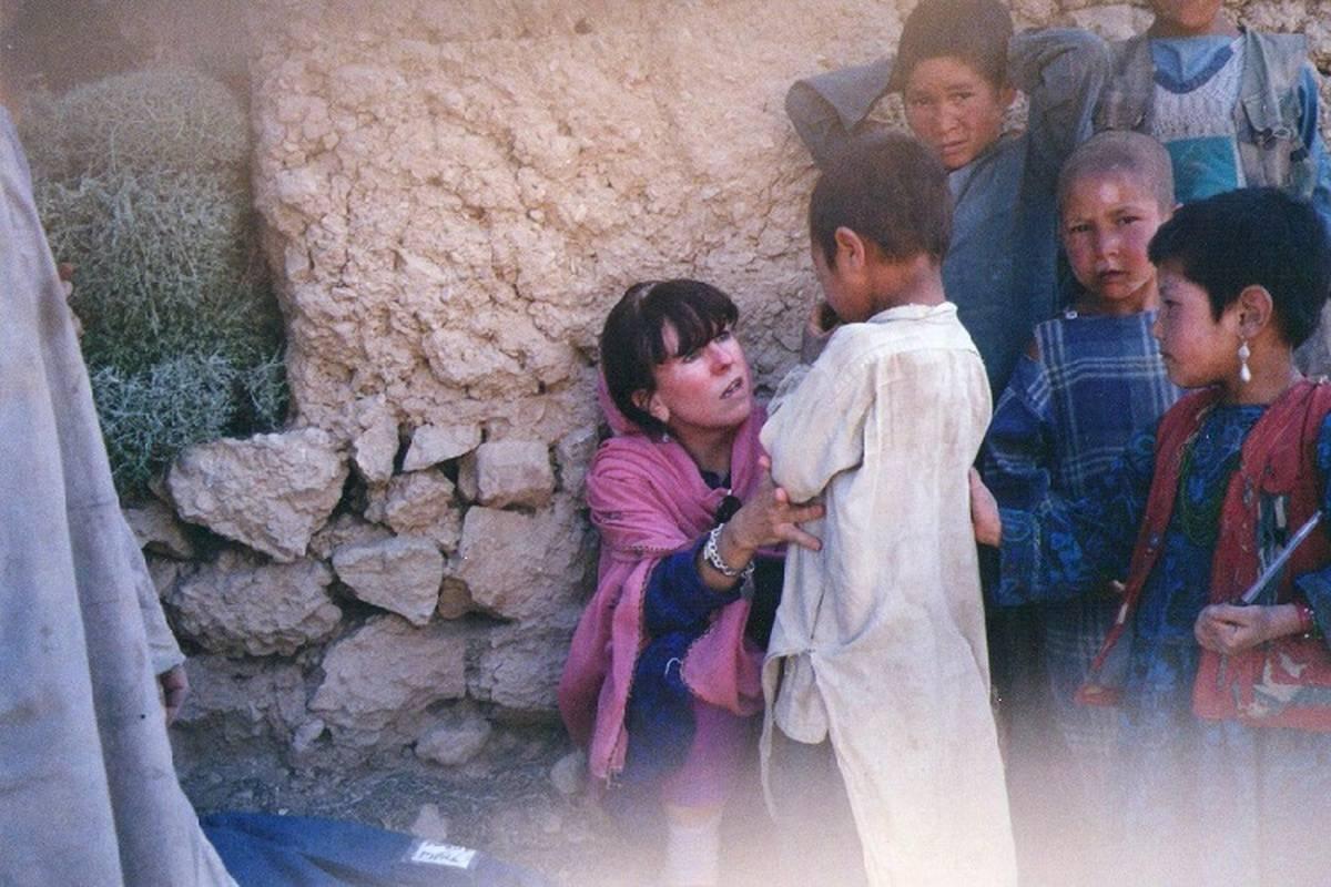 "Nurse Writes Book, ""Footprints in the Dust"" About Decades Spent Volunteering In War Zones'"