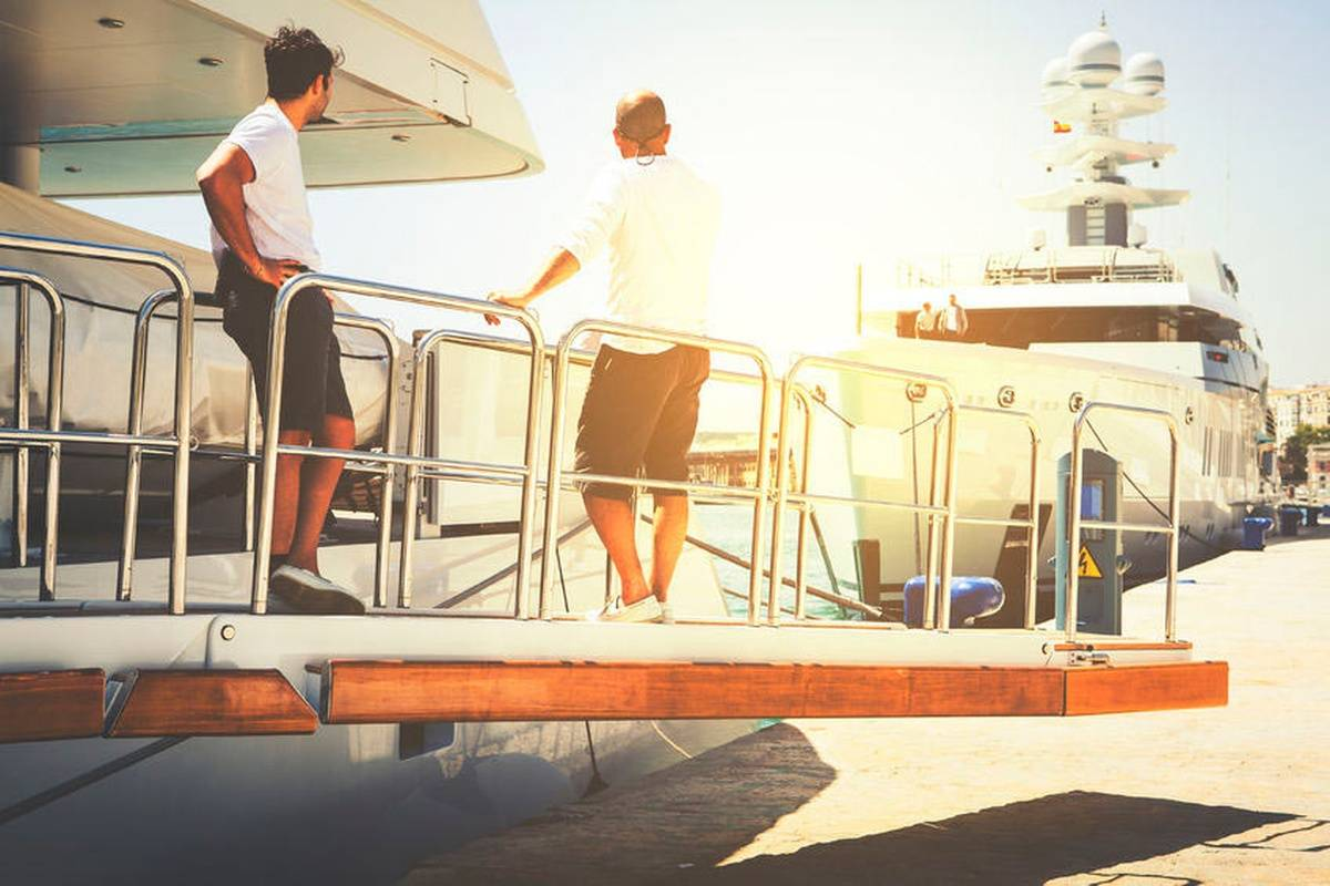I'm On A Boat: The Life Of A Yacht Nurse