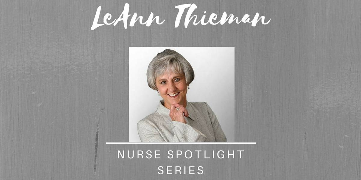 Meet LeAnn Thieman: Serving Chicken Soup For Nurses' Souls