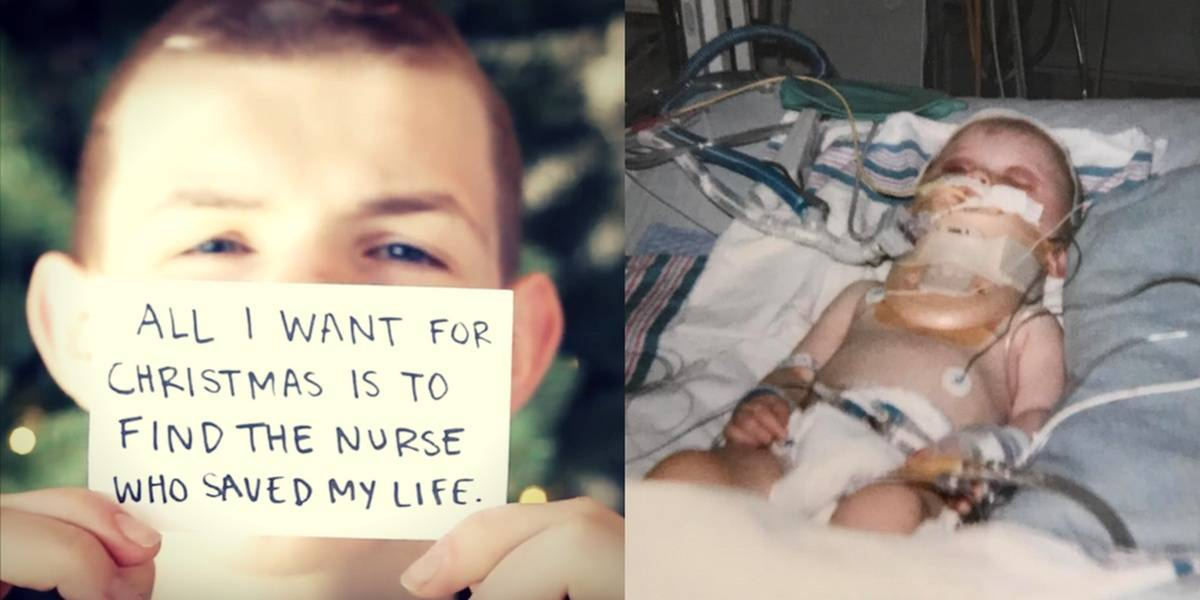 'Help Me Find The Nurse Who Saved My Life' - Teen's Video Goes Viral.