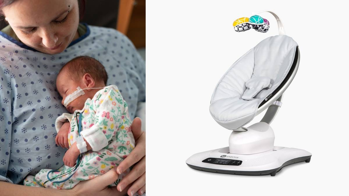NICU Nurses, Here's How You Can Win MamaRoo Swings for Your Unit