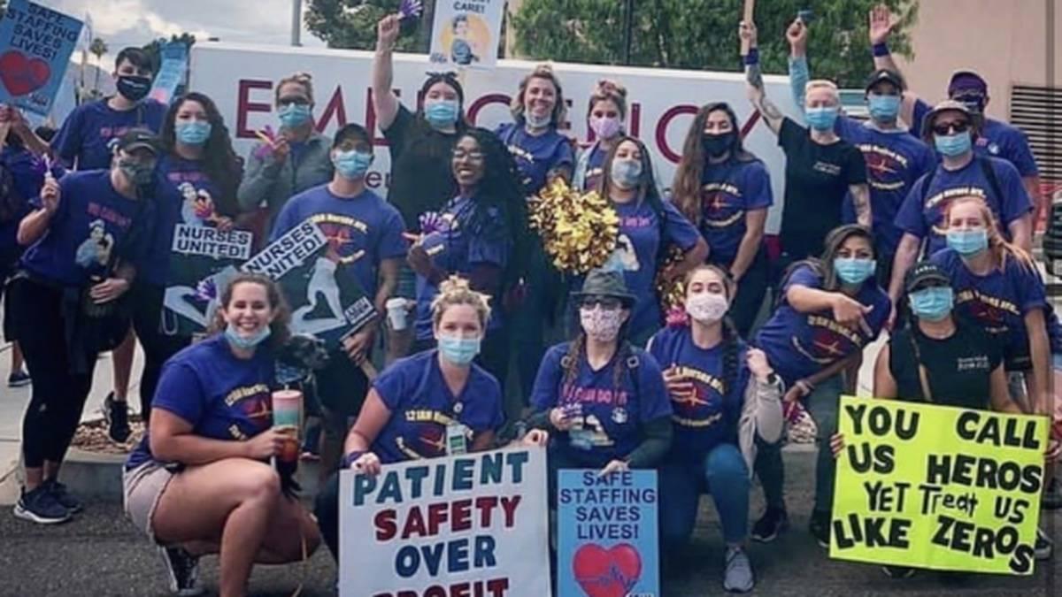 Hundreds of CA Nurses Strike Over Unsafe Staffing During a Pandemic