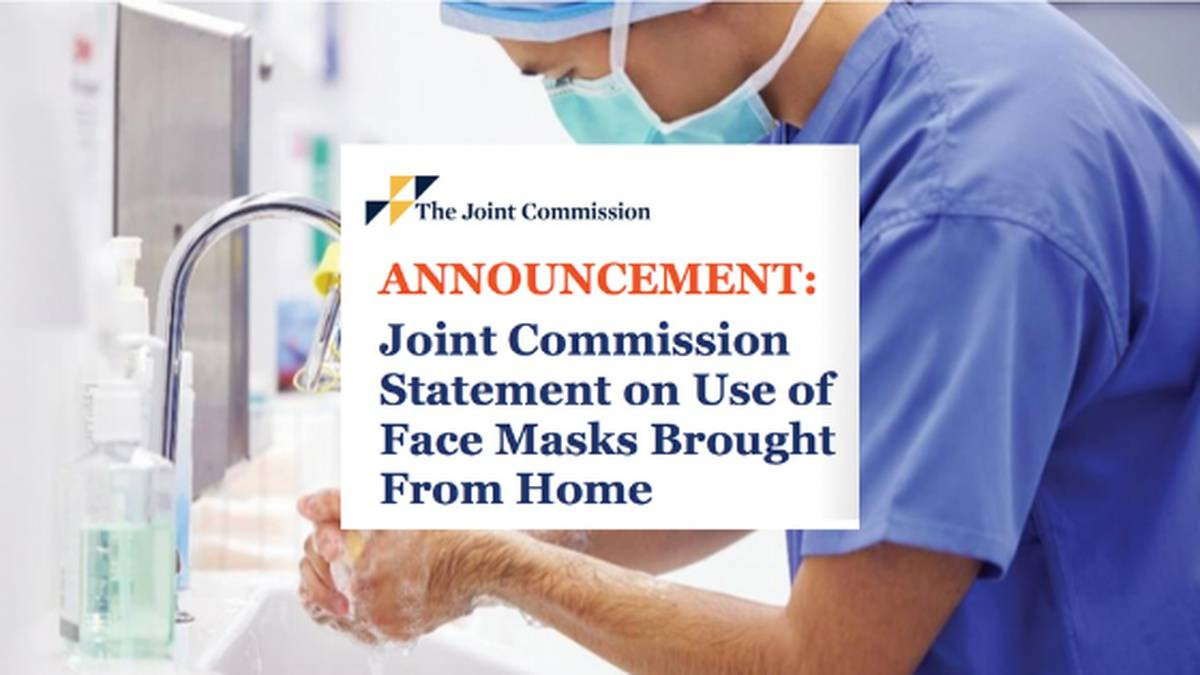 JCAHO Gives an OK For Clinicians To Wear PPE & Masks From Home After Many Were Reprimanded