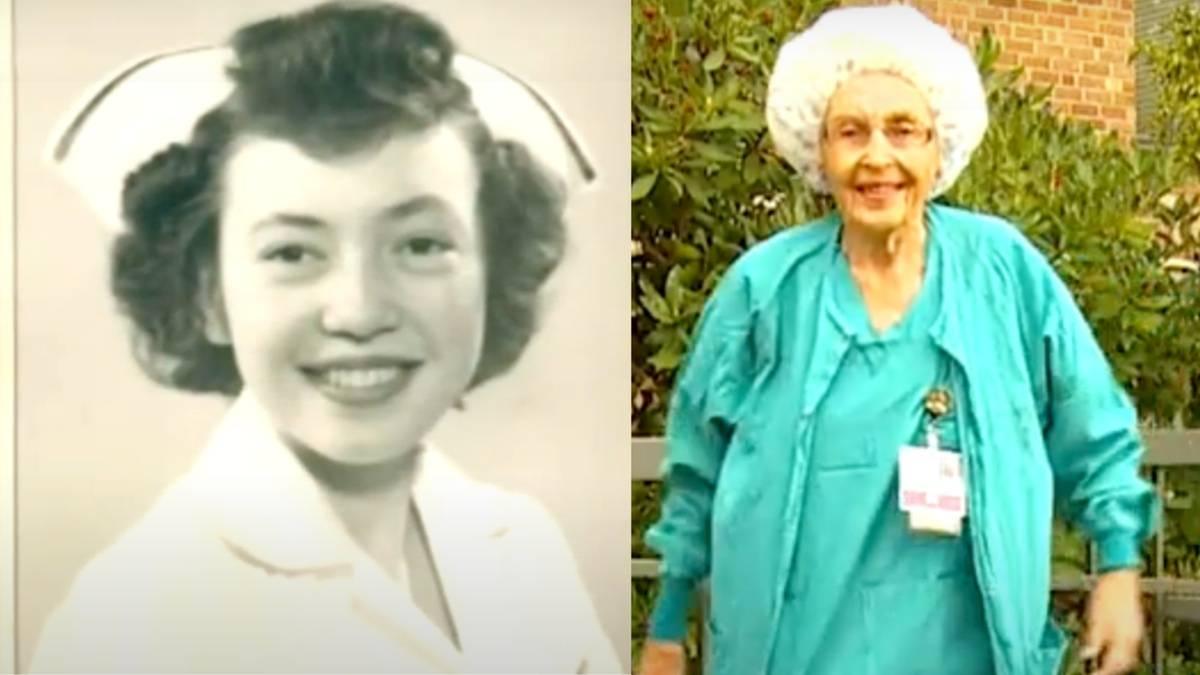 americas oldest nurse Seesee Rigney