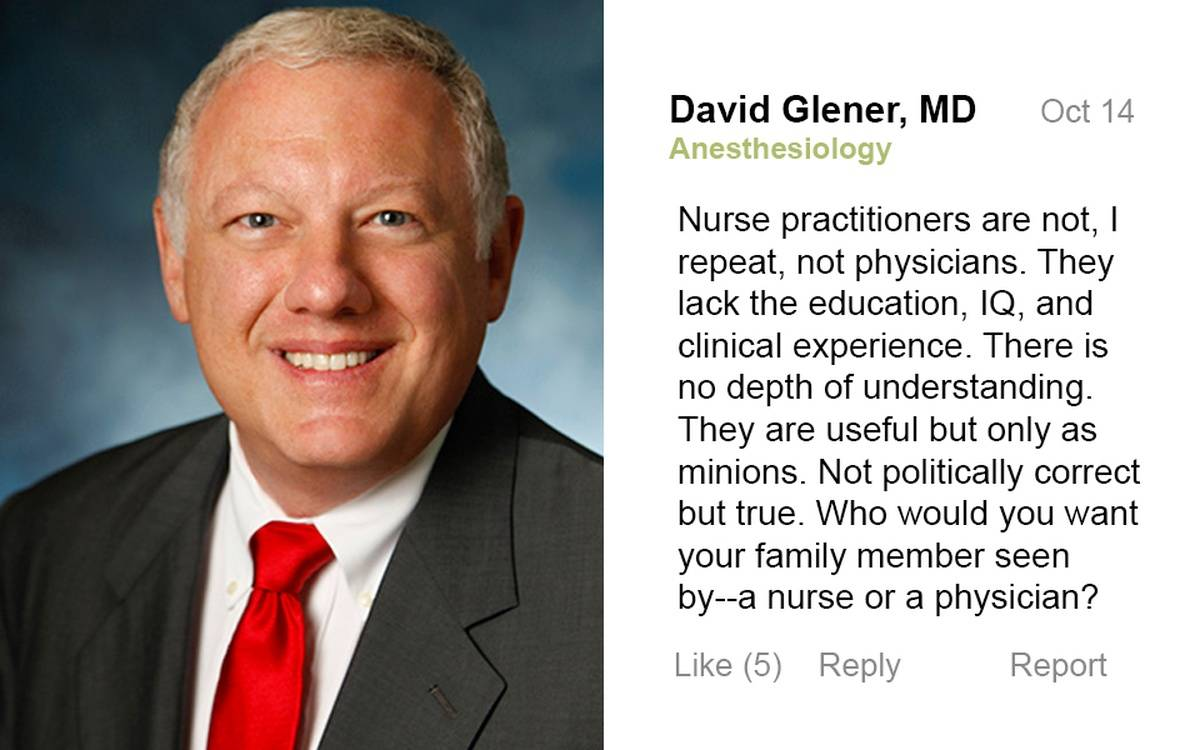 [Update] Dr's Post on Nurse Practitioners Goes Viral, Claims Someone Else Posted