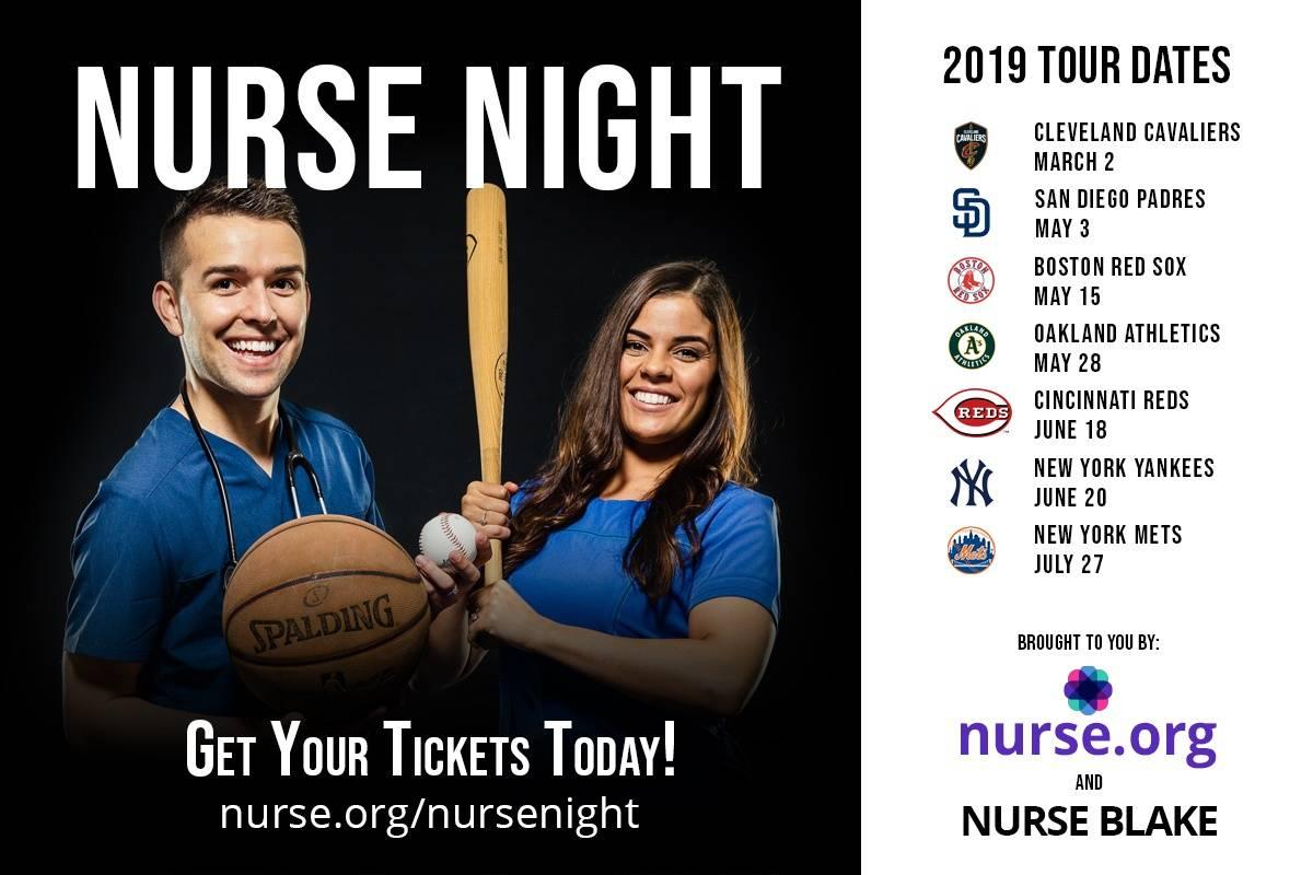 Nurse Night 2019 Nationwide Tour