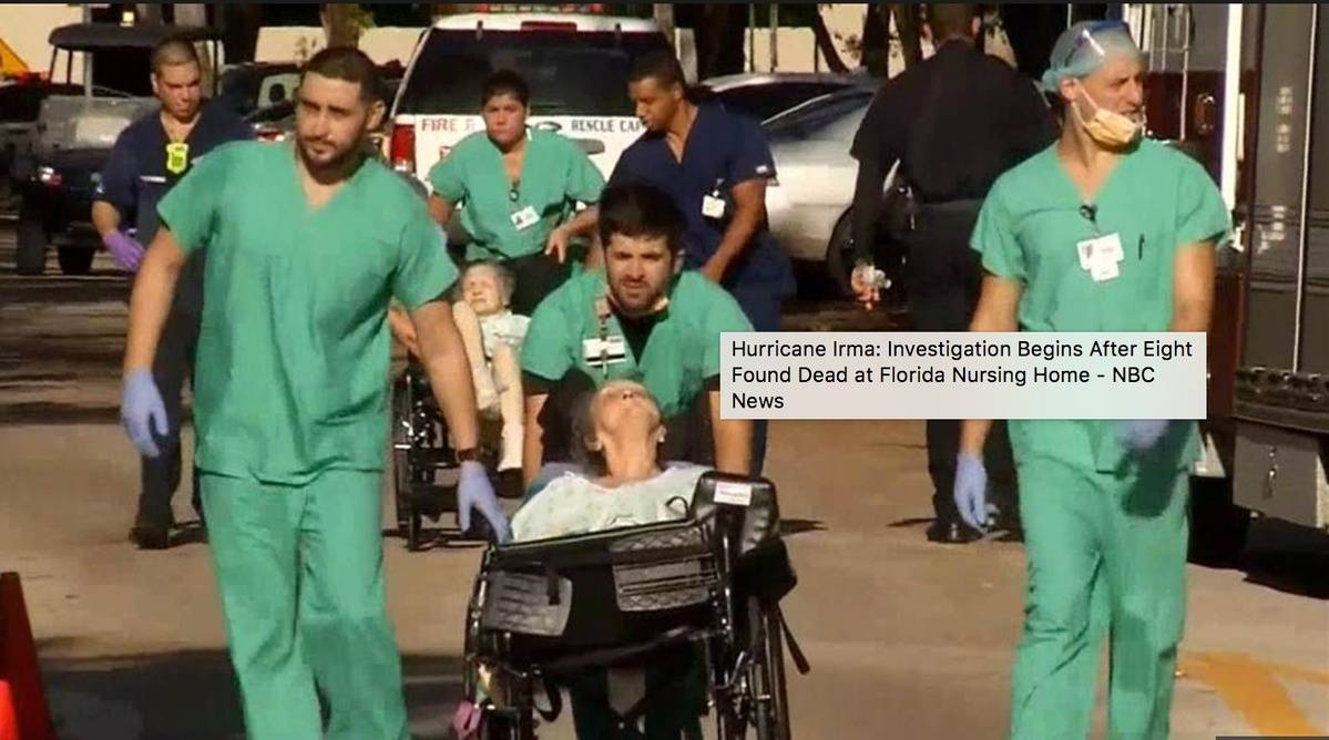 New Video Shows Conditions Inside Nursing Home Without A/C Where 8 Died