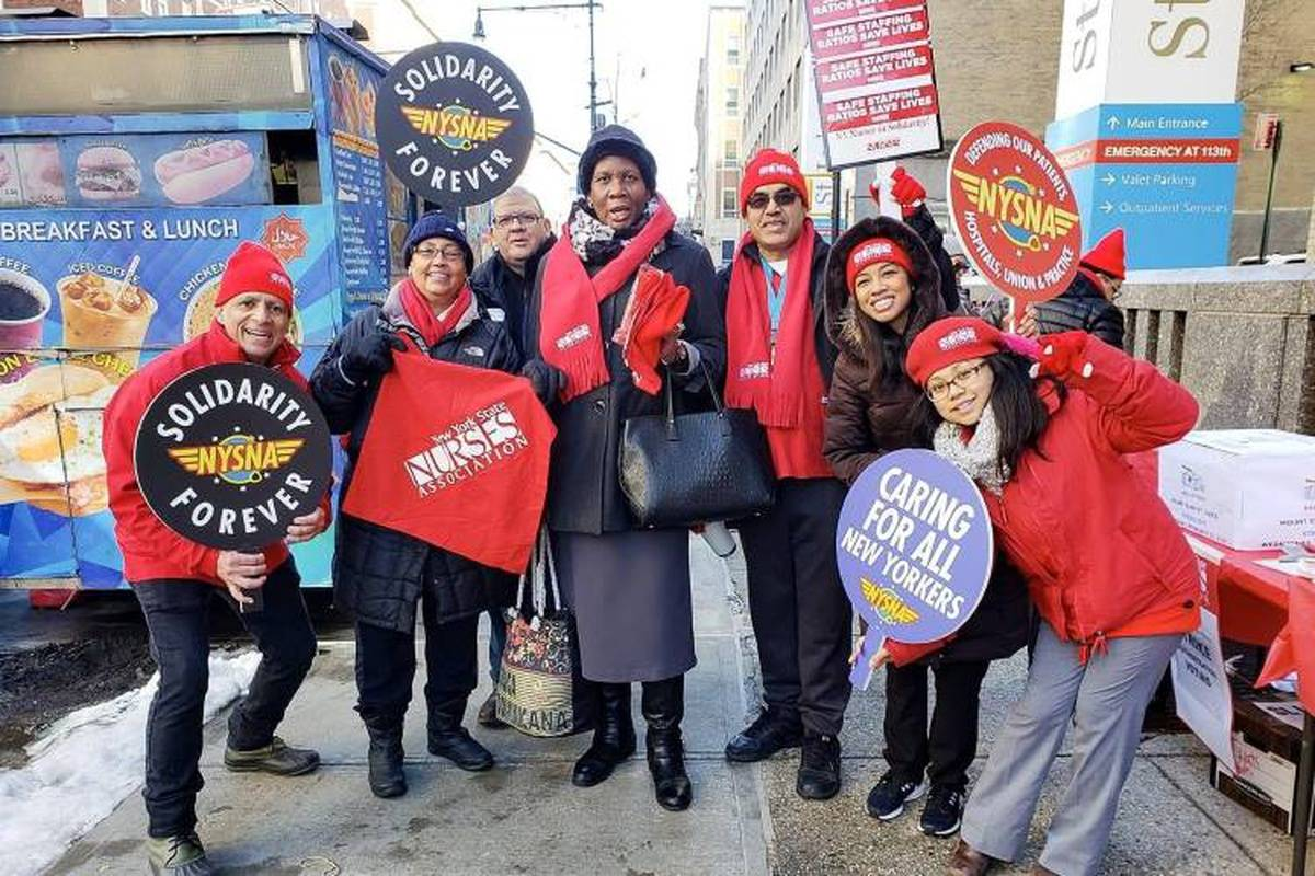 This Is Why 12,000 NYC Nurses Might Strike In April 2019