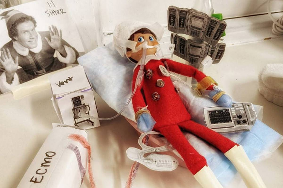 AACN Hosts Elf on the Shelf Contest and the Pics Will Make You Laugh!