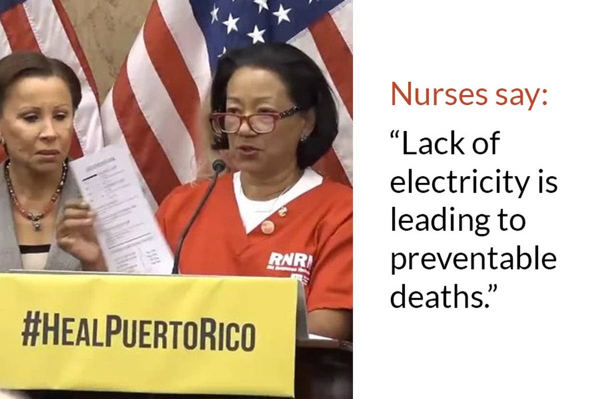 Nurse Volunteers Say Puerto Ricans Are Dying- Here's How Nurses Can Help.