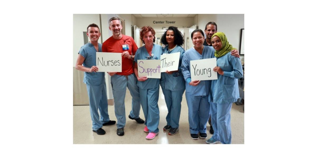 Sign The Pledge: Nurses Support Their Young