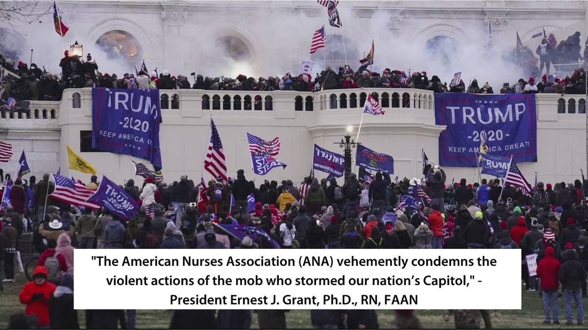 nurses condemn dc riots