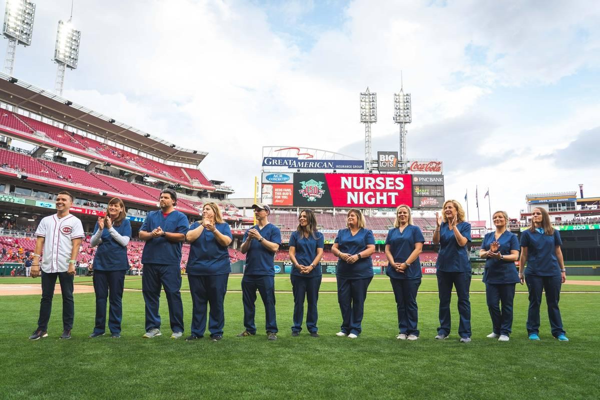 Cincinnati Reds Nurse Night 2019