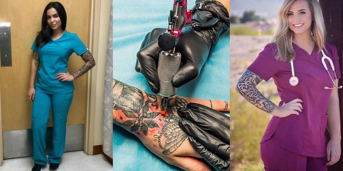 Hospital Ditches Outdated Dress Code: Tattoos And Neon Hair Allowed