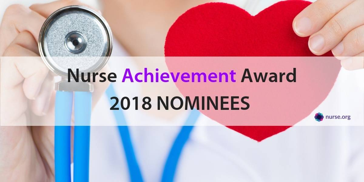Nurse Achievement Award 2018 - Student Loan Assistance
