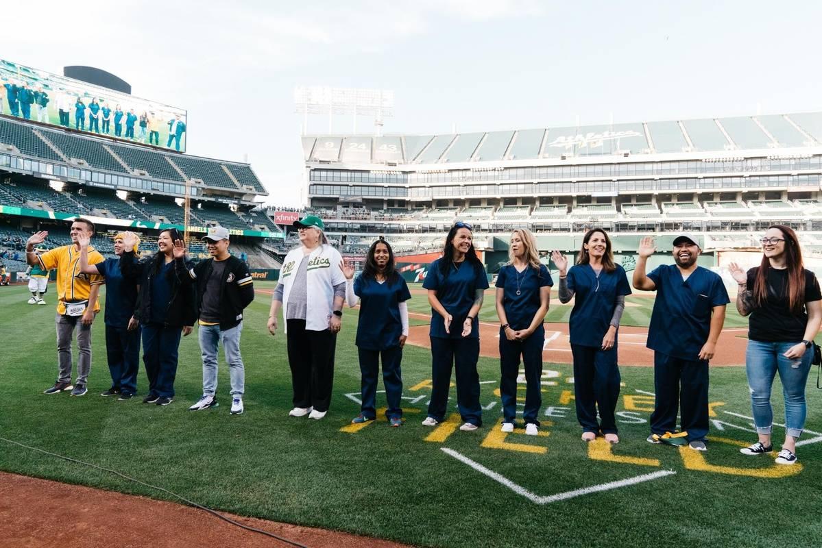 The Oakland A's Nurse Night 2019 - Recap!
