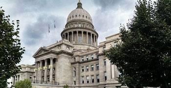State legislature building in Boise Idaho