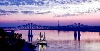 Mississippi River in Mississippi