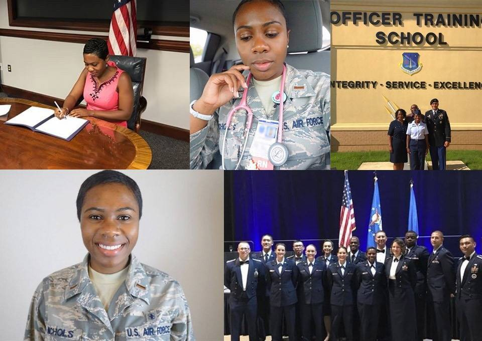 Jay Quinn Air Force military nurse and military hero
