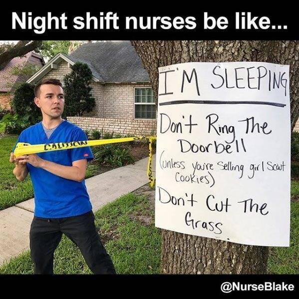 16 Funniest Nurse Memes Night Shift Edition Nurse Org