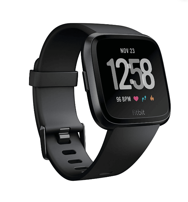 Smartwatch with health displayed on screen
